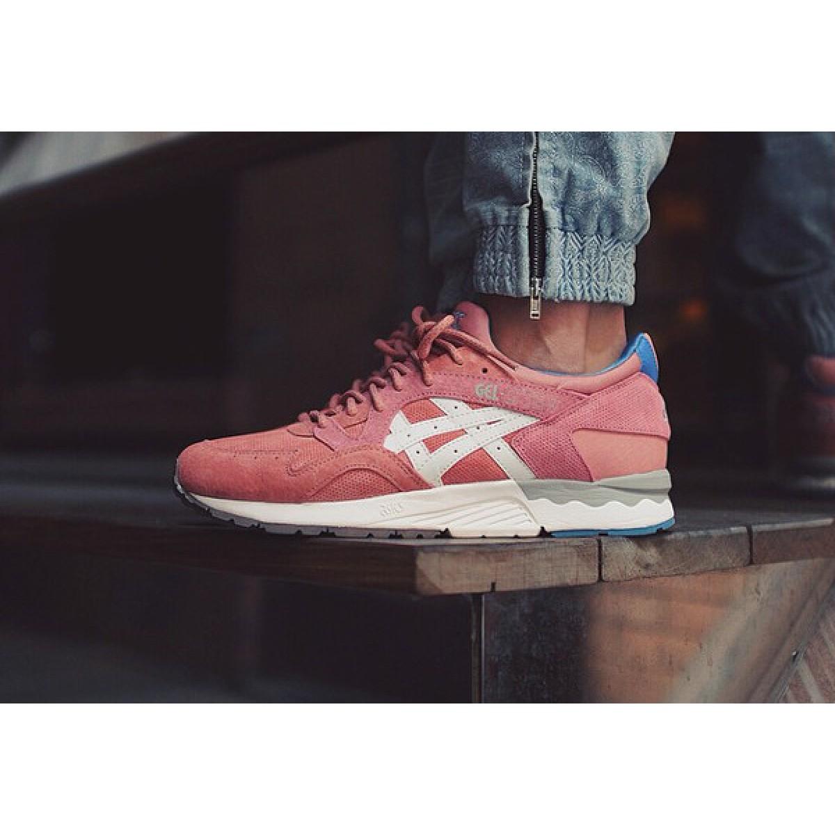 chaussure asics gel lyte femme rose