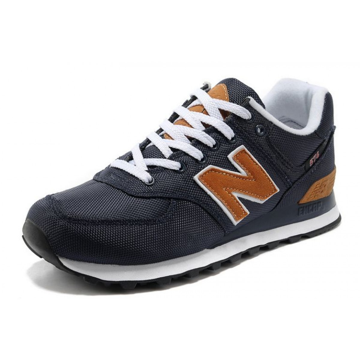 new balance 574 homme orange