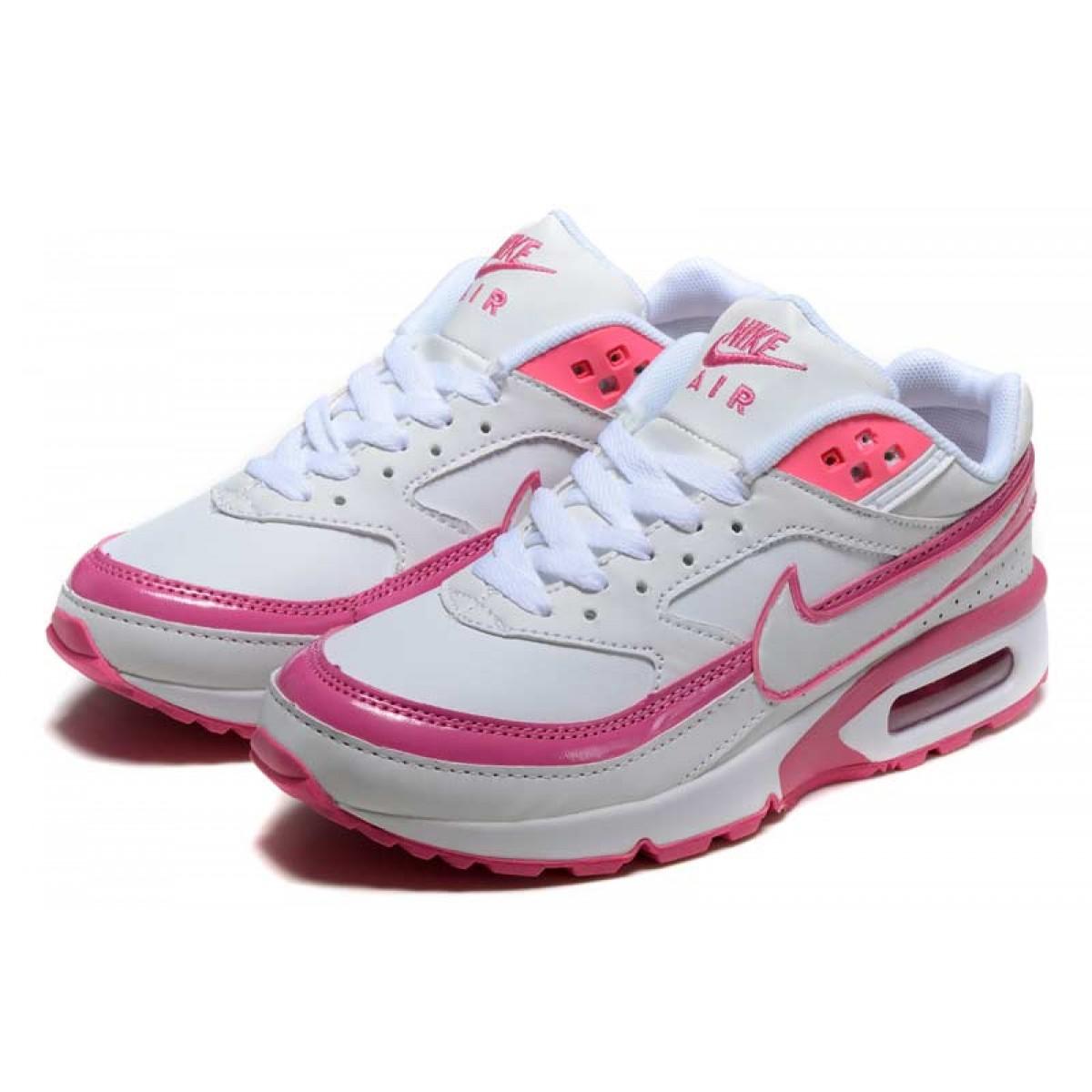 air max classic femme blanc rose