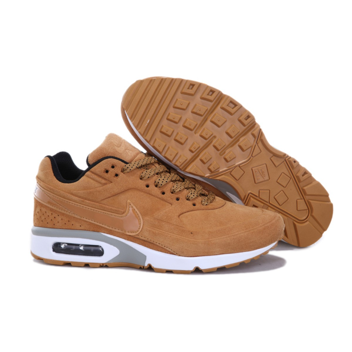 Nike Air Max Bw Marron pas cher Achat Vente Baskets