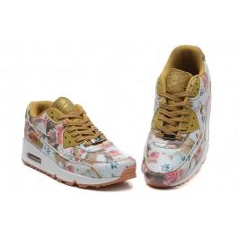 Achat / Vente produits Nike Air Max 90 Femme Fleur,Nike Air Max 90 Femme Fleur Pas Cher[Chaussure-9875202]