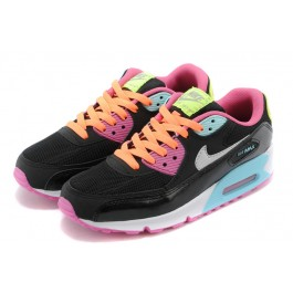 Achat / Vente produits Nike Air Max 90 Femme Noir et Rose,Nike Air Max 90 Femme Noir et Rose Pas Cher[Chaussure-9875295]