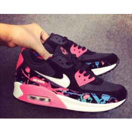 Achat / Vente produits Nike Air Max 90 Femme Noir et Rose,Nike Air Max 90 Femme Noir et Rose Pas Cher[Chaussure-9875308]