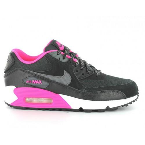 pretty nice a21b7 bd238 Achat   Vente produits Nike Air Max 90 Femme Noir et Rose ...