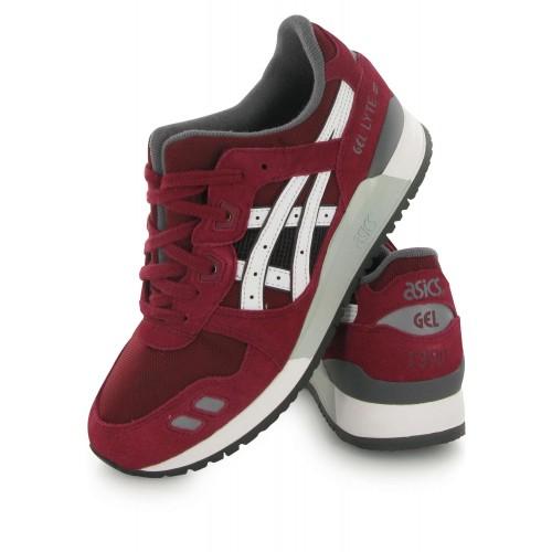 Achat / Vente produits Asics Gel Lyte 3 Femme Rouge,Professionnel Courir Chaussures Asics Gel Lyte 3 Femme Rouge Pas Cher[Chaussure-9874257]