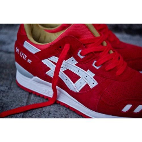Achat / Vente produits Asics Gel Lyte 3 Femme Rouge,Professionnel Courir Chaussures Asics Gel Lyte 3 Femme Rouge Pas Cher[Chaussure-9874258]