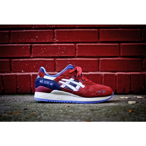 Achat / Vente produits Asics Gel Lyte 3 Femme Rouge,Professionnel Courir Chaussures Asics Gel Lyte 3 Femme Rouge Pas Cher[Chaussure-9874259]