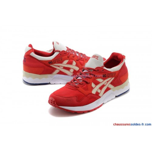 Achat / Vente produits Asics Gel Lyte 3 Femme Rouge,Professionnel Courir Chaussures Asics Gel Lyte 3 Femme Rouge Pas Cher[Chaussure-9874262]