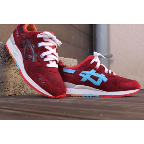 Achat / Vente produits Asics Gel Lyte 3 Femme Rouge,Professionnel Courir Chaussures Asics Gel Lyte 3 Femme Rouge Pas Cher[Chaussure-9874269]