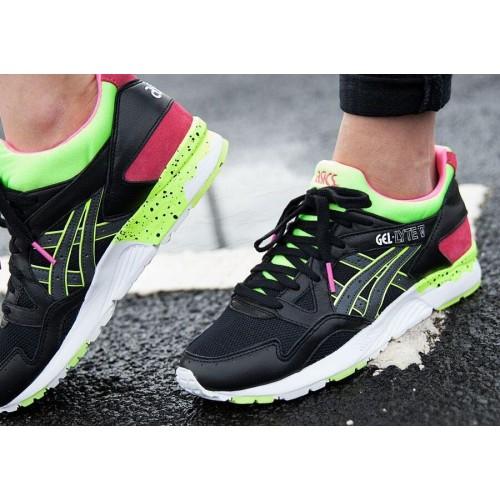 Achat / Vente produits Asics Gel Lyte 5 Femme Noir,Professionnel Courir Chaussures Asics Gel Lyte 5 Femme Noir Pas Cher[Chaussure-9874534]