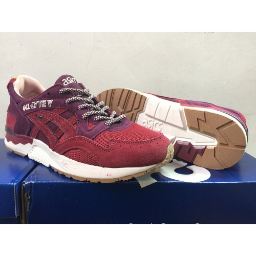 Achat / Vente produits Asics Gel Lyte 5 Femme Rouge,Professionnel Courir Chaussures Asics Gel Lyte 5 Femme Rouge Pas Cher[Chaussure-9874499]