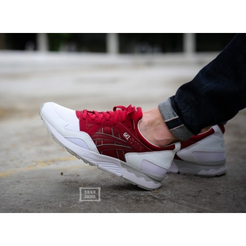 Achat / Vente produits Asics Gel Lyte 5 Femme Rouge,Professionnel Courir Chaussures Asics Gel Lyte 5 Femme Rouge Pas Cher[Chaussure-9874501]