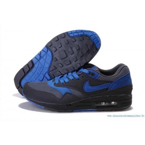 Achat / Vente produits Nike Air Max 1 Homme Bleu,Nike Air Max 1 Homme Bleu Pas Cher[Chaussure-9874999]