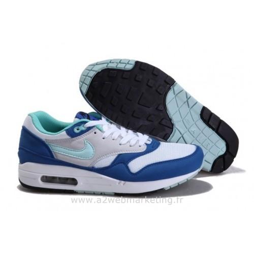 Achat / Vente produits Nike Air Max 1 Homme Bleu,Nike Air Max 1 Homme Bleu Pas Cher[Chaussure-9875000]