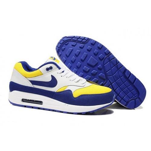 Achat / Vente produits Nike Air Max 1 Homme Bleu,Nike Air Max 1 Homme Bleu Pas Cher[Chaussure-9875004]