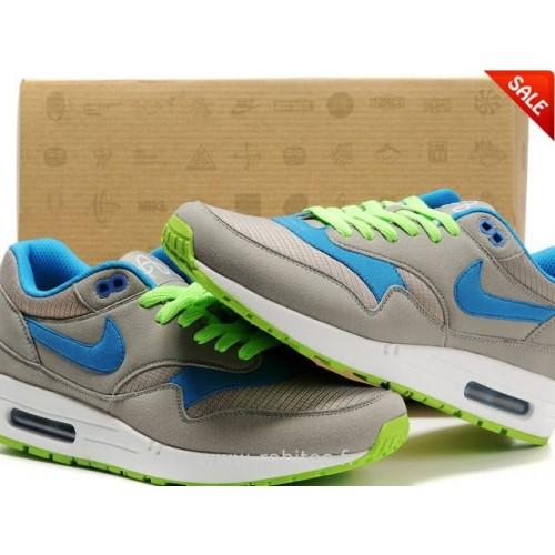 Achat / Vente produits Nike Air Max 1 Homme Grise,Nike Air Max 1 Homme Grise Pas Cher[Chaussure-9875025]