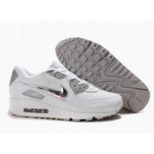 Achat / Vente produits Nike Air Max 90 Femme Blanc,Nike Air Max 90 Femme Blanc Pas Cher[Chaussure-9875185]