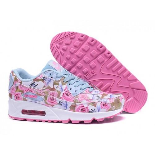 Achat / Vente produits Nike Air Max 90 Femme Fleur,Nike Air Max 90 Femme Fleur Pas Cher[Chaussure-9875216]