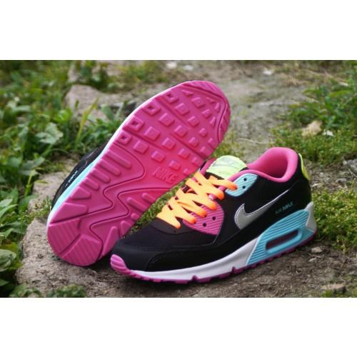 Achat / Vente produits Nike Air Max 90 Femme Noir et Rose,Nike Air Max 90 Femme Noir et Rose Pas Cher[Chaussure-9875310]