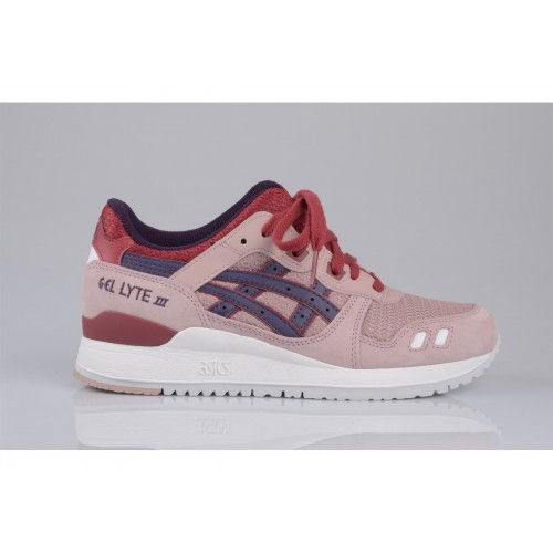 Achat / Vente produits Asics Gel Lyte 3 Femme Rose,Professionnel Courir Chaussures Asics Gel Lyte 3 Femme Rose Pas Cher[Chaussure-9874252]