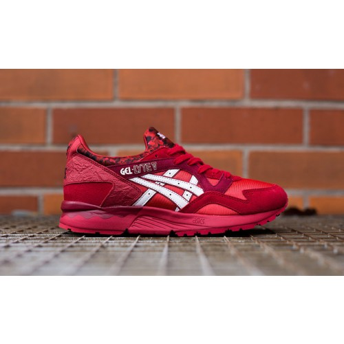 Achat / Vente produits Asics Gel Lyte 5 Femme Rouge,Professionnel Courir Chaussures Asics Gel Lyte 5 Femme Rouge Pas Cher[Chaussure-9874491]