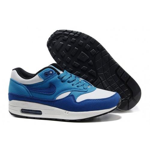 Achat / Vente produits Nike Air Max 1 Homme Bleu,Nike Air Max 1 Homme Bleu Pas Cher[Chaussure-9875002]