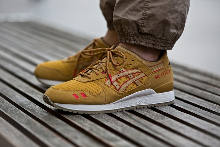 asics basket marron
