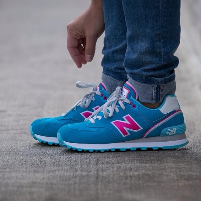 new balance femmes bleu 38