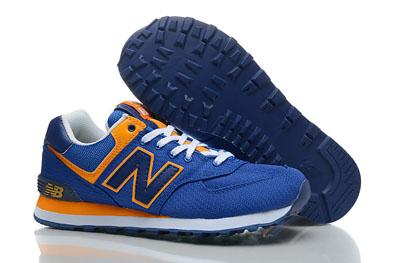 new balance hommes ml574 bleu