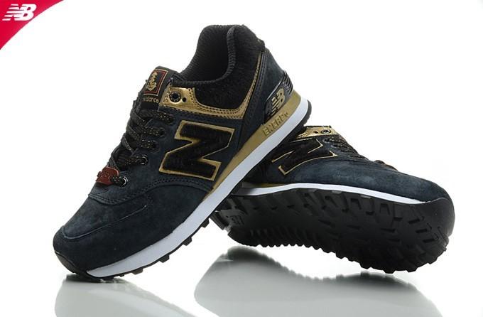 new balance m574 femme noir