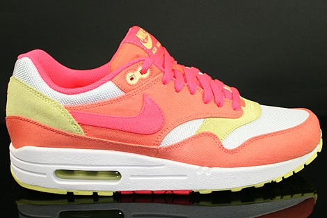 Nike Air Max 1 Femme Rose Fluo Officiel Atelier  [9874973]