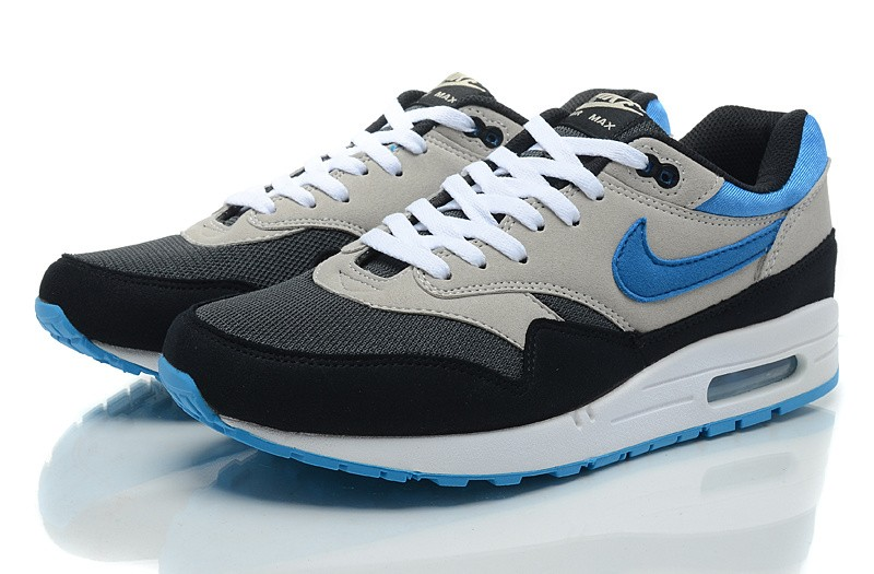 Nike Air Max 1 Homme Bleu Officiel Atelier  [9874977]
