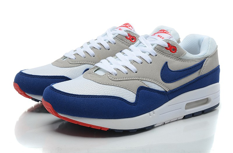 Nike Air Max 1 Homme Bleu Officiel Atelier  [9874979]