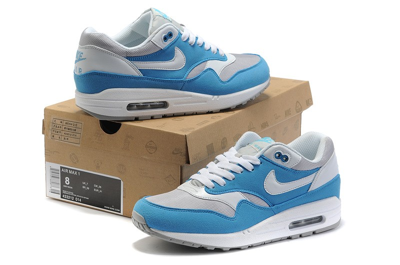 Nike Air Max 1 Homme Bleu Officiel Atelier  [9875001]