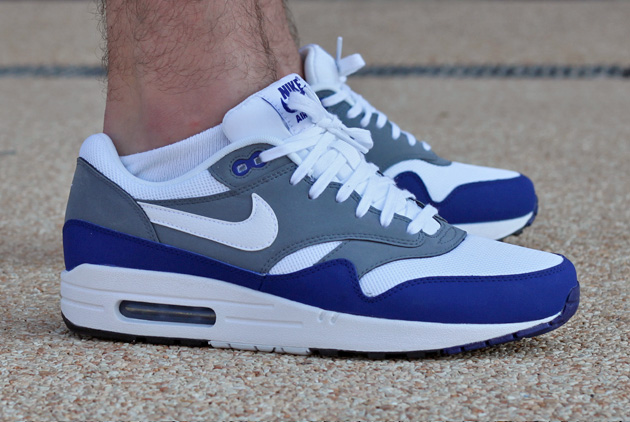 Nike Air Max 1 Homme Bleu Officiel Atelier  [9875003]