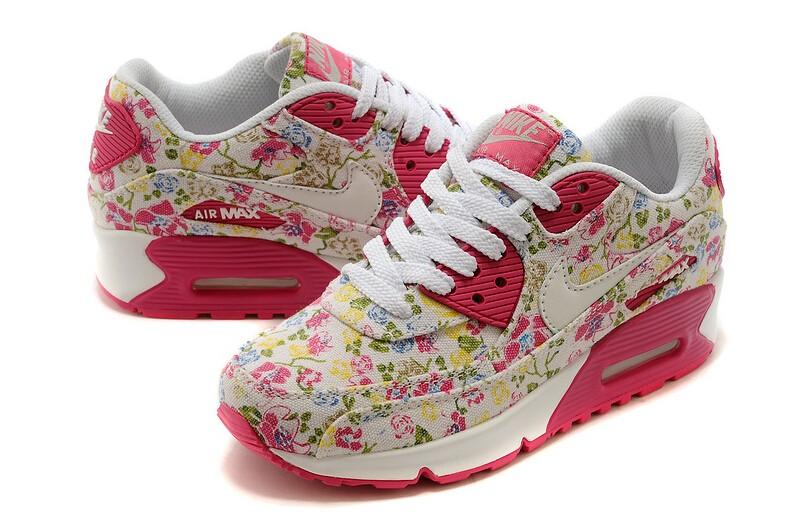 nike air max 90 femmes fleurs