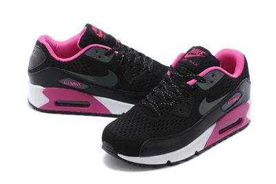 air max femmes 90 noir et rose