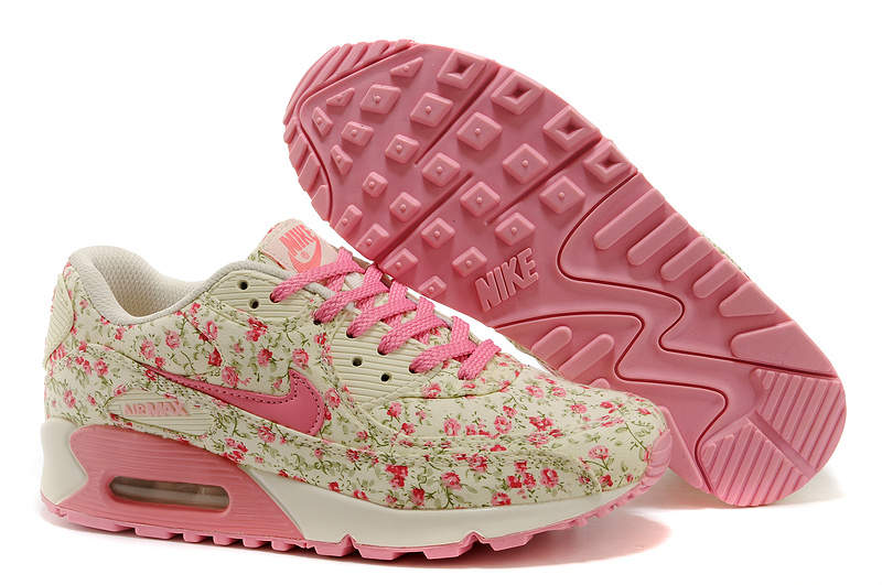 Nike Air Max 90 Femme Rose Officiel Atelier  [9875565]