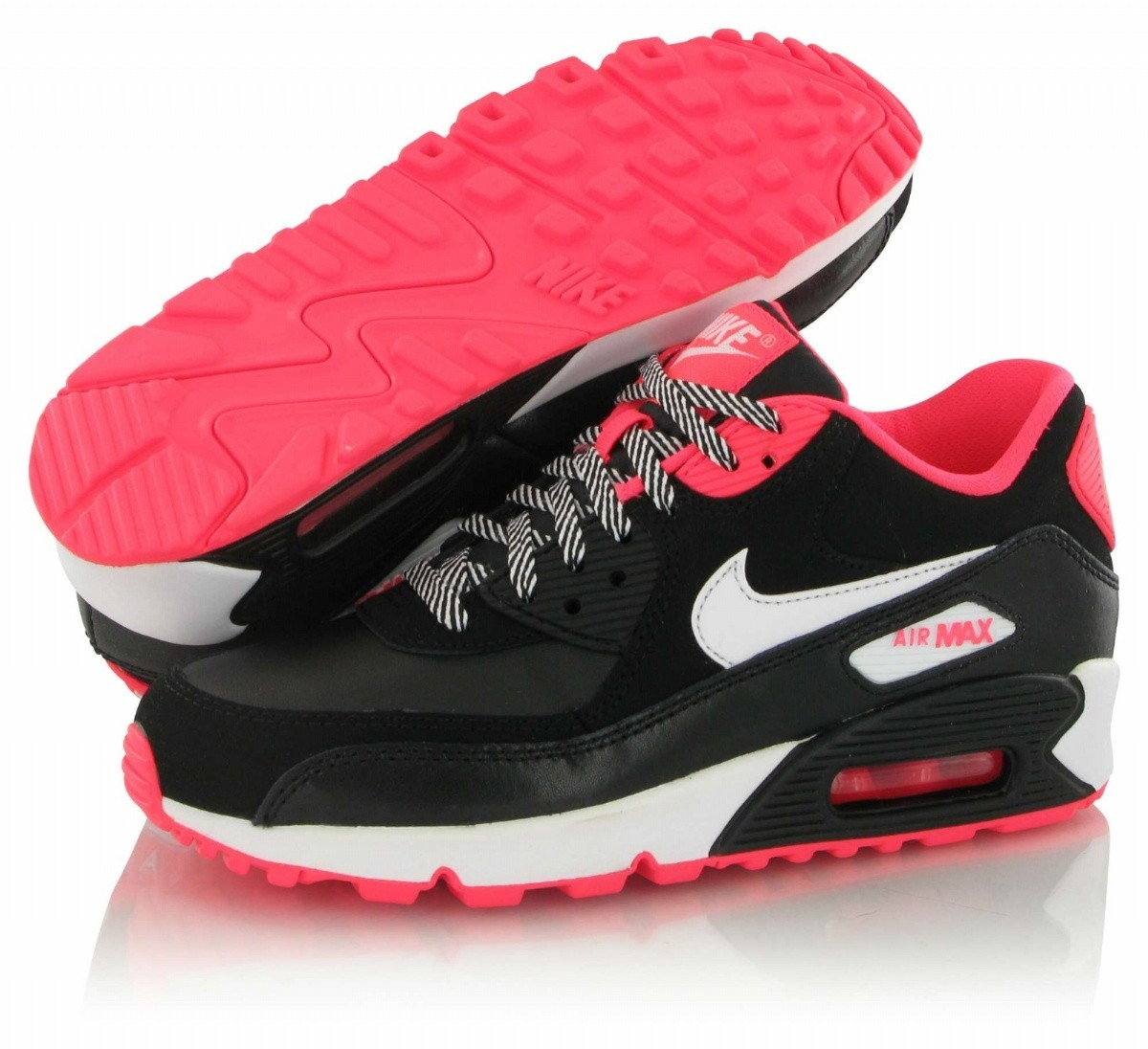 air max rose noir