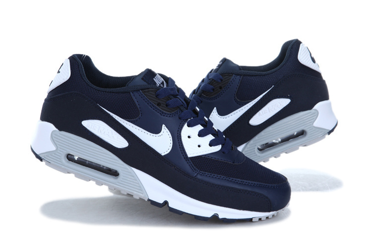 Nike Air Max 90 Homme Bleu Officiel Atelier  [9875602]