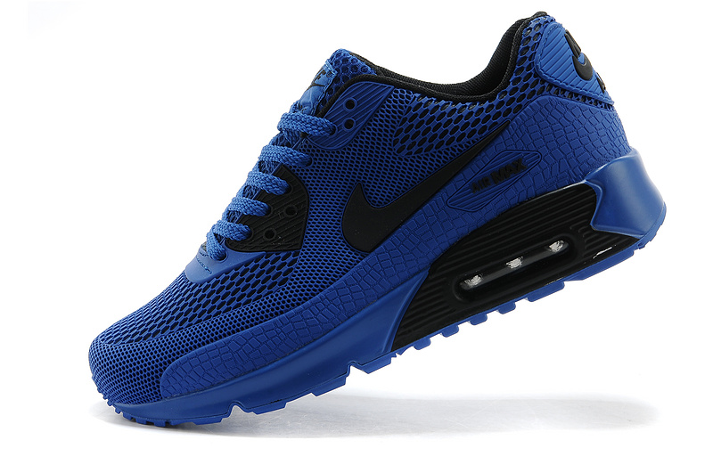 Nike Air Max 90 Homme Bleu Officiel Atelier  [9875603]