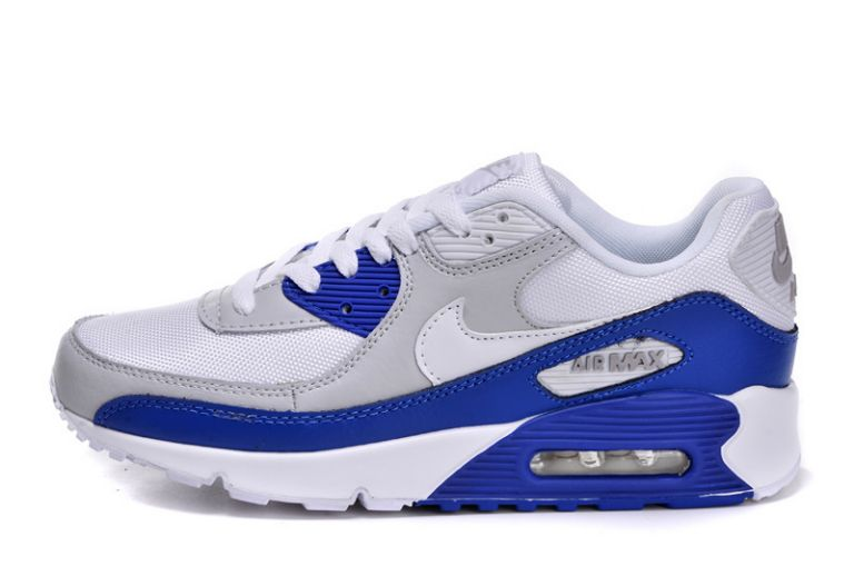 Nike Air Max 90 Homme Bleu Officiel Atelier  [9875611]